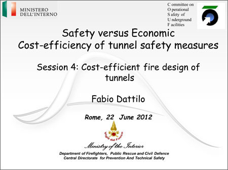 Cost-efficient fire design of tunnels