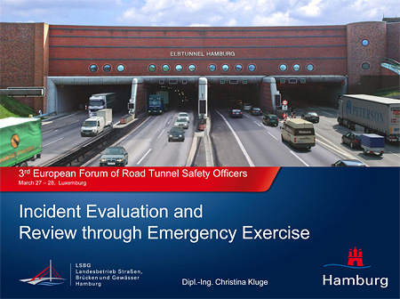 Incident Evaluation and Review through Emergency Exercise