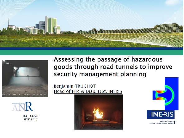 Assessing the passage of hazardous goods through road tunnels to improve security management planning