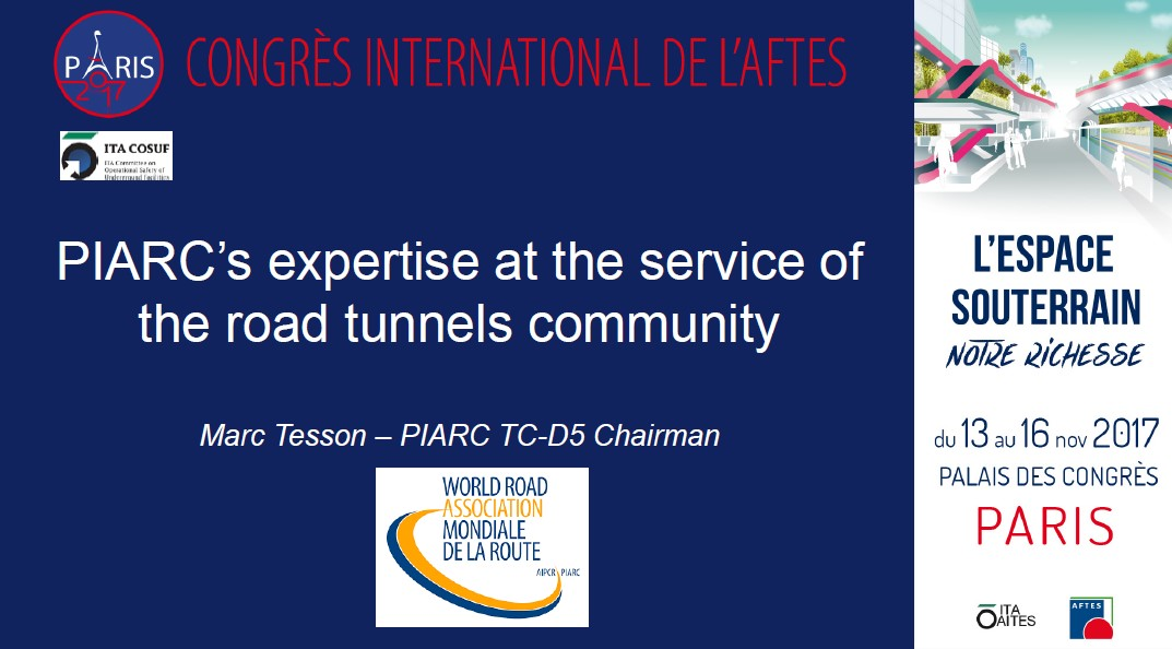 PIARC's expertise at the service of the road tunnels community